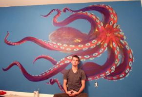 octo wall by octomanz