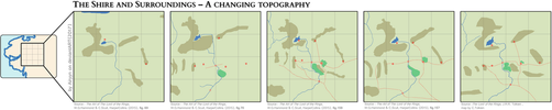 The Shire and Surroundings - A changing topography by Airyyn
