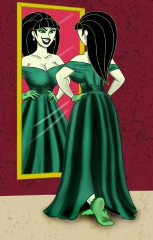 Shego gets ready by tennente