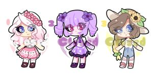 Flower Adopts [CLOSED] by licxyu