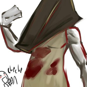 silent hill 2 - pyramid head by buuzen
