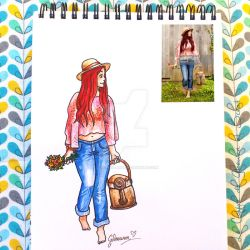 Look of the day 5/100 by Gloewen-Art