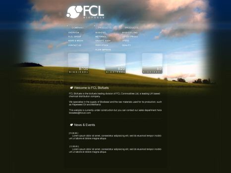 FCL Biofuels Website by adit