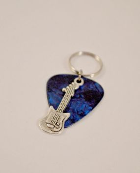 Guitar Pick Key Chain by AshsMysticEmporium