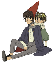 Wirt and Greg Colored by Bouswa