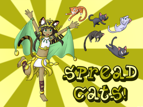 Spread Cats! by masamunemaniac