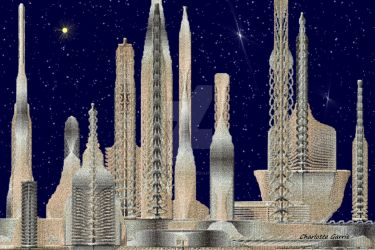 Space City by TropicalFractals