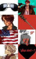 Aph 2p America - Allen F. Jones Aesthetic Collage by ThatWeirdHetalian