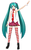 [PDF2nd] .: Mitchie M Style Miku :. by PiettraMarinetta
