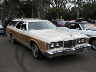 1974 Ford LTD Country Squire Brougham Wagon by ryanthescooterguy