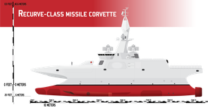 Recurve-class Missile Corvette by Afterskies