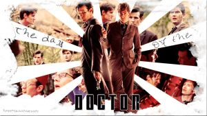 The day of the Doctor wallpaper by HappinessIsMusic