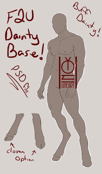 [F2U] Buff Dainty Base by InQlet