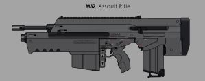 M32 Assault Rifle by dfacto