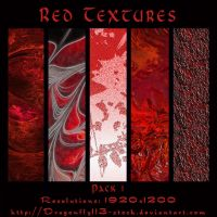 Red Textures Pack 1 by BFstock