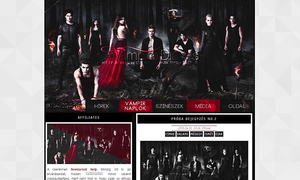 Ordered The Vampire Diaries layout by Efruse
