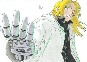 Edward Elric - FMA Brotherhood by PataPez