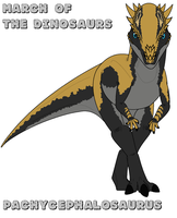 March of the Dinosaurs - day 28 by Absol989