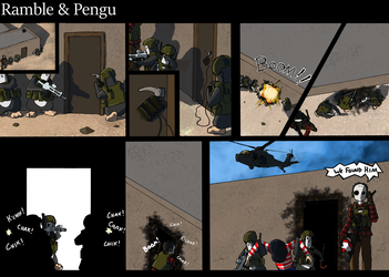 Ramble and Pengu 4 by Sches