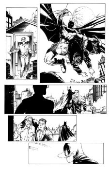 Arkham Knight 26 page 4 final Vik and Rich by Blasterkid