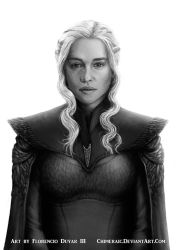 Game of Thrones - Daenerys Targaryen by chimeraic