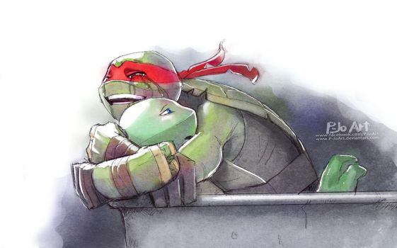 TMNT: Welcome back by P-JoArt