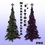 STOCK PNG gothic trees by MaureenOlder