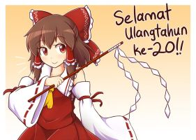 Happy 20th Anniversary!! by miwol