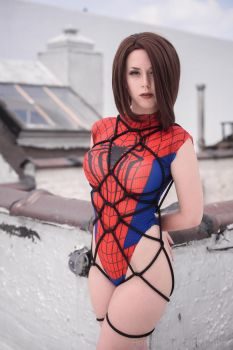 Just your Friendly Neighborhood Spiderman by AxilliaCosplay
