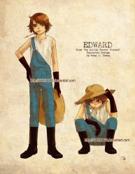 EDWARD_Character Design by SheCow