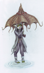 Nott n Umbrella by Valadomi