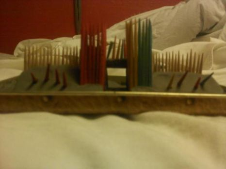 toothpick fortress by LordoftheWolfDale