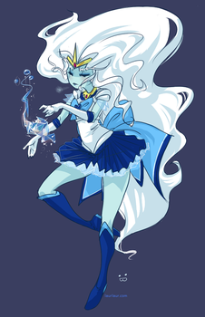 AT - Sailor Ice Queen by Laurangeblossom