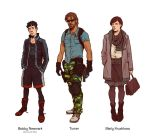 Count Zero_ Main characters by Deimos-Remus