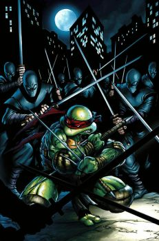TMNT cover by JPRcolor
