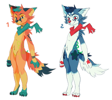 fox adopts | $5 | 2/2 OPEN by flvffy