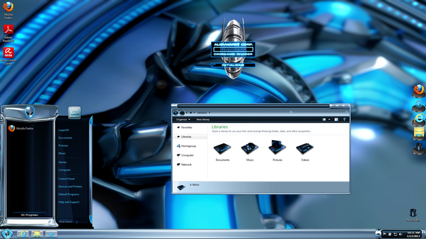 Alienware Desktop Win.7-Vista by logancat24