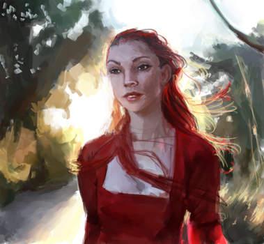 Red Woman by atomicqueen