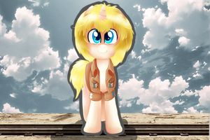 Attack on Pony- Armin Arlert by InkBlu