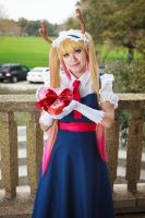 Tohru's Valentine Chocolates, Dragon Maid Cosplay by firecloak