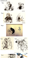 Inktober2016 Compilation by White-Starcloud