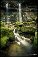 Water fall, in Cruou valley by benisa