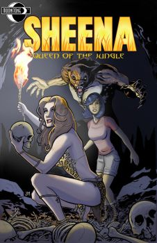 Sheena: Queen of the Jungle #3 by Kminor