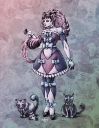 Cat Goddess in Colour by Shakoriel