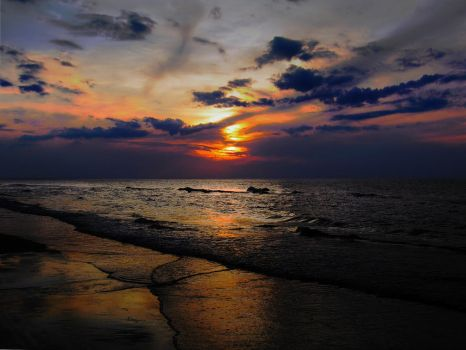 Baltic Sunset by SweetyBaby86