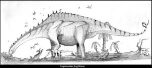 The Maybe Biggest Dinosaur by MattMart