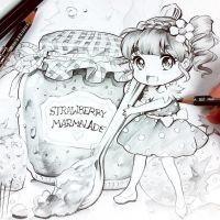 Stawberry Marmalede by Naschi