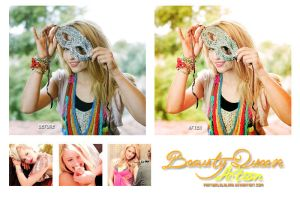 Beauty Queen Action by PartyInLalaLand