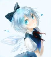 Cirno's Day by f-wd