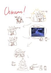 Silver's Christmas XD by You-Snowy
